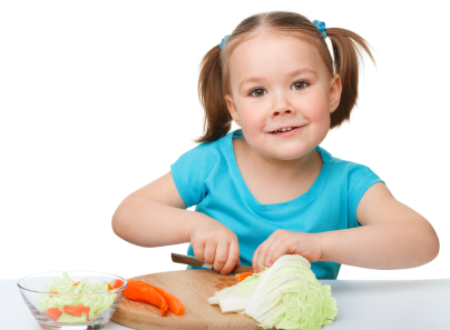Kinderen mindful eten