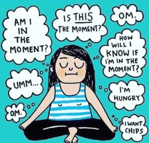 Meditatie en gedachten
