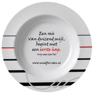 Mindful eten klein maken